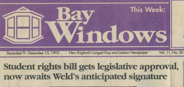 Bay Windows, December 9-15, 1993