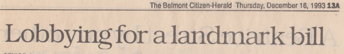 Belmont Citizen Herald, December 16, 1993