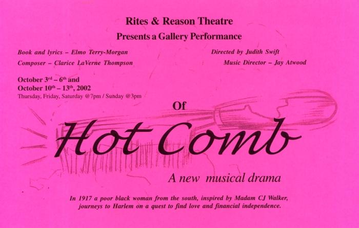 Hot Comb, 2002