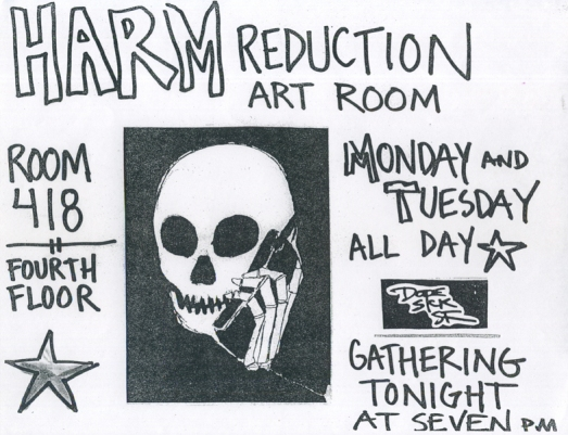 Harm Reduction Art Room, 2003