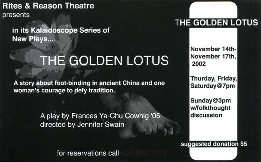 The Golden Lotus, 2002