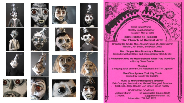L: 2006 ©Marsian, R: Great Small Works flyer