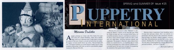 Puppetry International, 2009 8x2.3