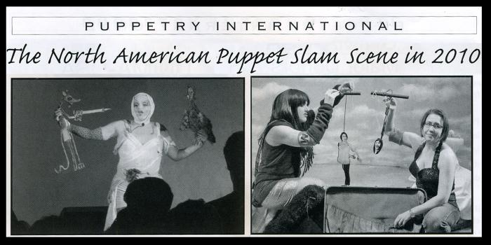 Puppetry International Fall/Winter 2010