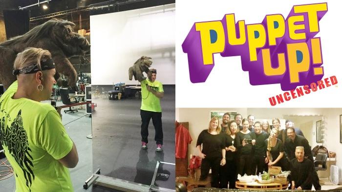 Puppet Ep! Uncensored, 2015, photos: L to R - Sarah Oh, April Warren