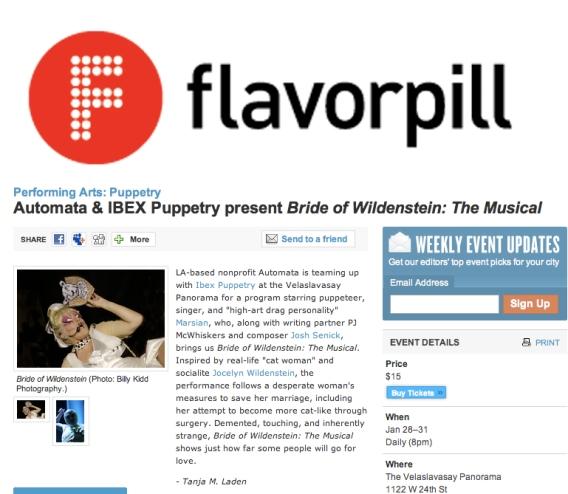Flavorpill 2010